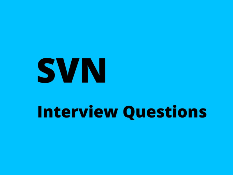 SVN interview questions
