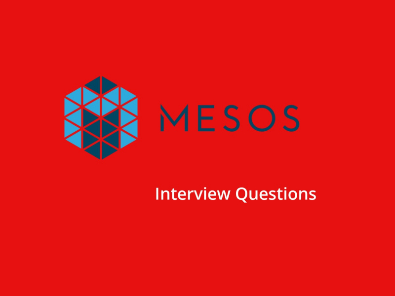 Apache mesos interview questions