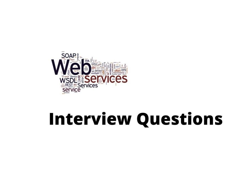 Web service interview questions