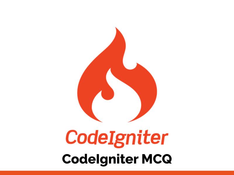 CodeIgniter MCQ