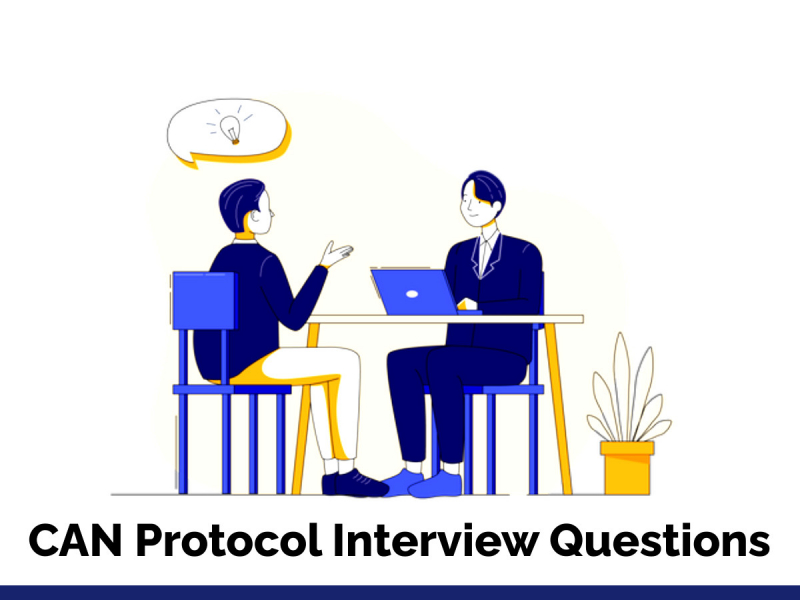 CAN Protocol Interview Questions
