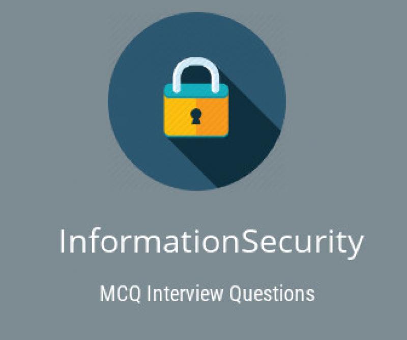 Information Security MCQ Quiz & Online Test 2019 - Online