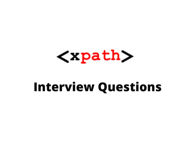 XPath Interview Questions