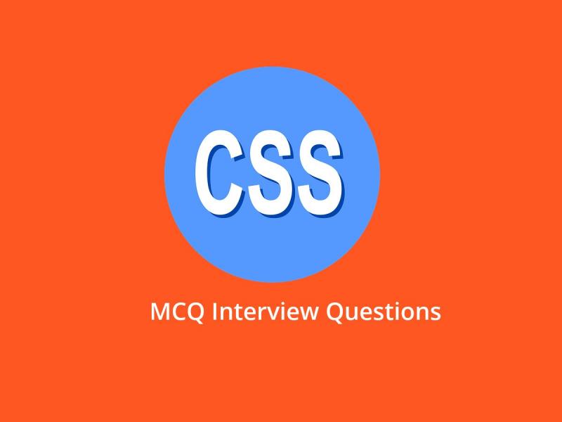 CSS MCQ Quiz & Online Test 2019 - Online Interview Questions