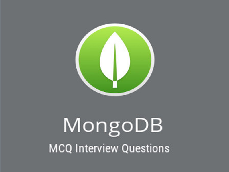 MongoDB MCQ Quiz & Online Test 2019 - Online Interview Questions
