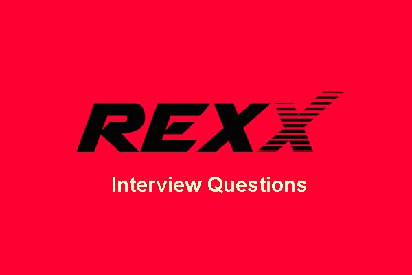 Rexx Interview Questions