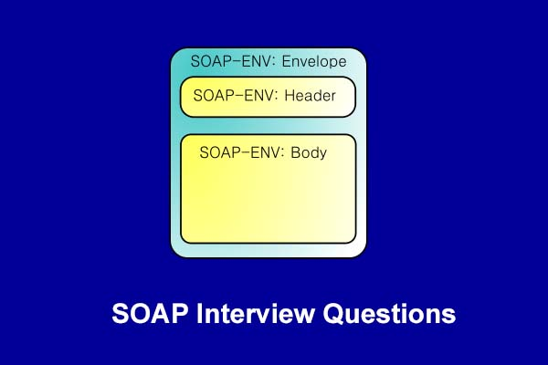 Soap interview questions in 2019 - Online Interview Questions