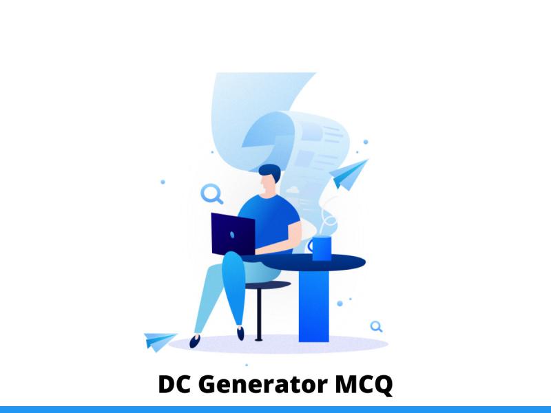 DC Generator MCQ