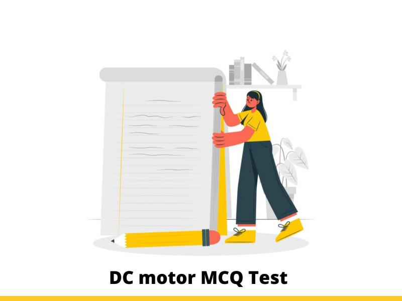 DC Motor MCQ