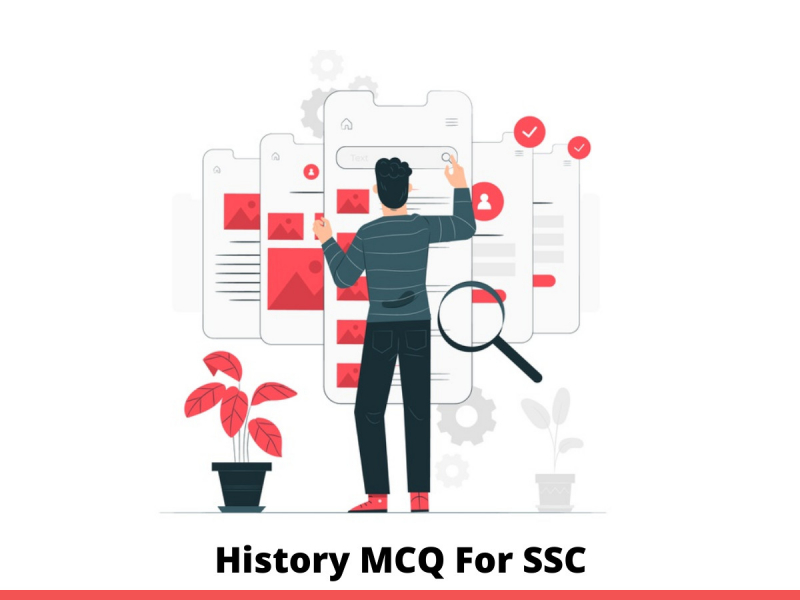 History MCQ For SSC
