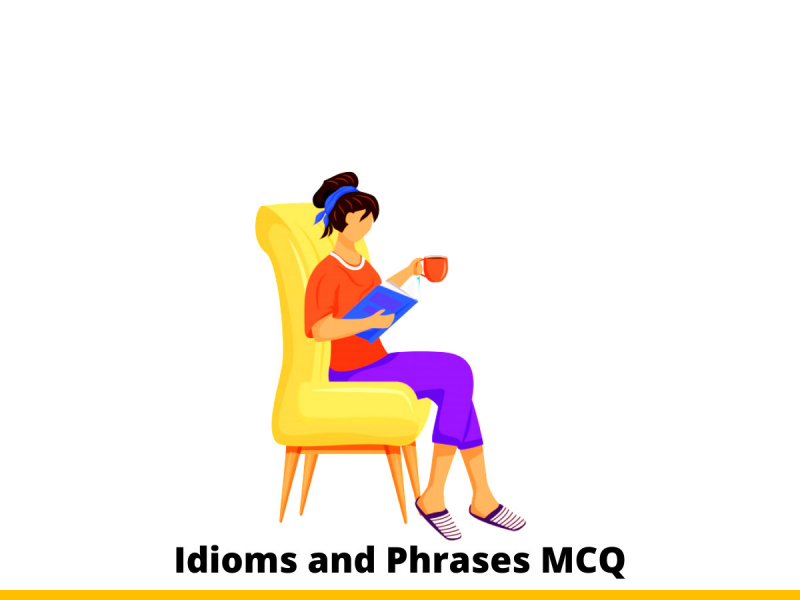 Idioms and Phrases MCQ