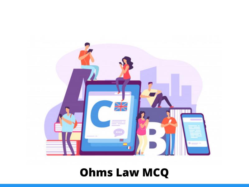 Ohms Law MCQ