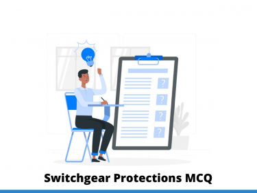 Switchgear Protections MCQ