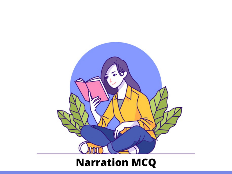 Narration MCQ