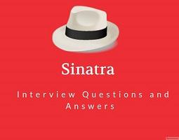 Sinatra framework interview questions
