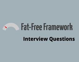 Fat Free Framework interview questions