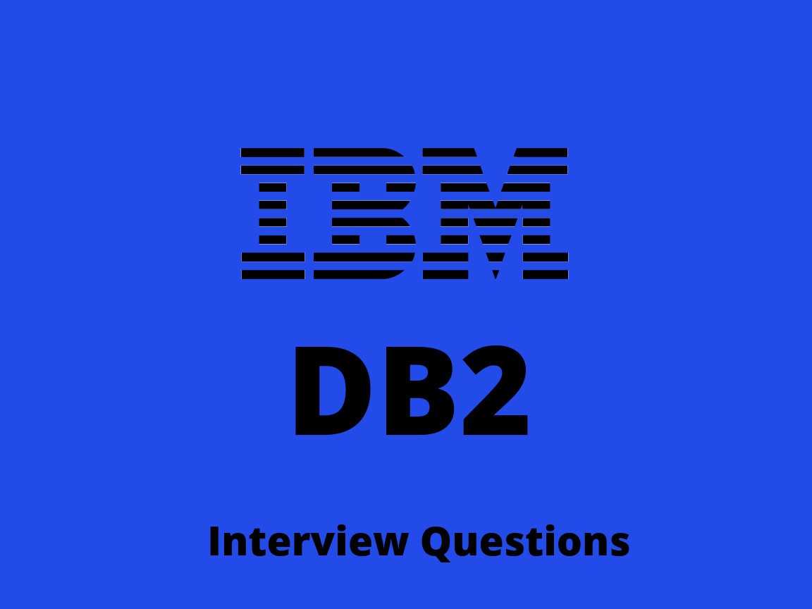 DB2 Interview Questions