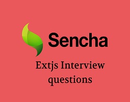 Extjs interview questions
