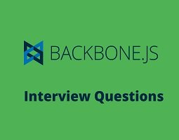 Top Backbone js interview questions and Answers