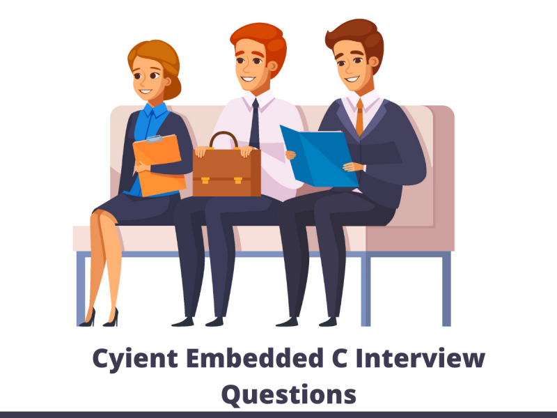 Cyient Embedded C Interview Questions