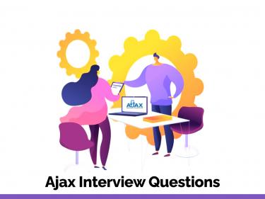 Ajax Interview Questions