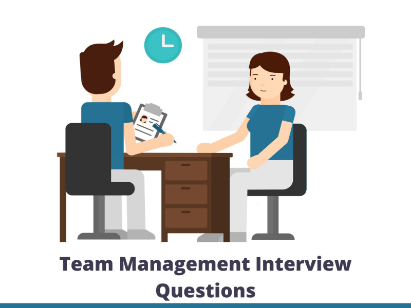 Team management interview questions