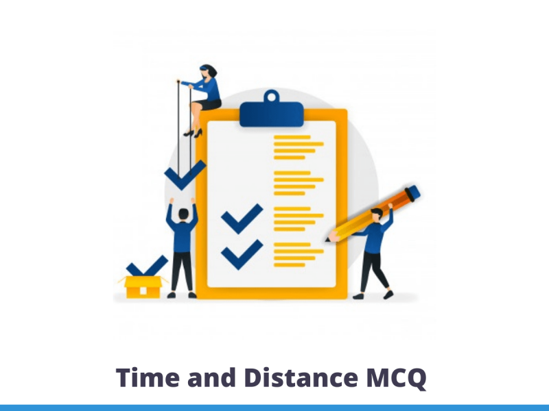Time and Distance MCQ