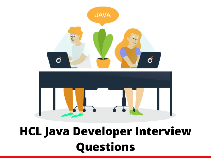 HCL Java Developer Interview Questions
