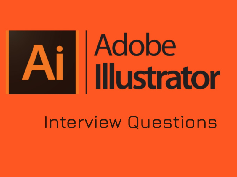 Adobe Illustrator interview questions