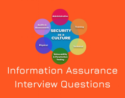Information Assurance Interview Questions