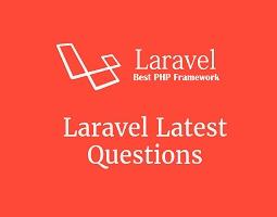 Laravel Latest Questions