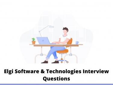 Elgi Software & Technologies