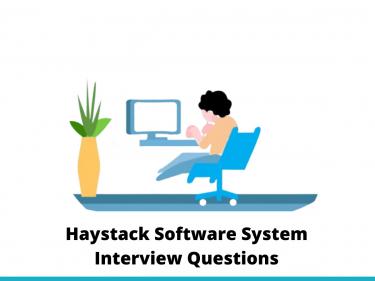Haystack Software System