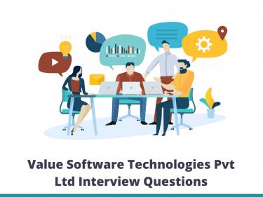 Value Software Technologies Pvt Ltd