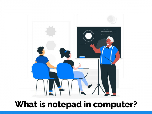What is notepad in computer?