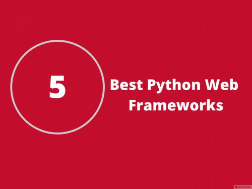 Best Python Web Frameworks 2018
