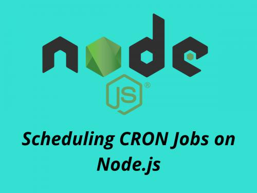 Scheduling CRON Jobs on Node js using node schedule