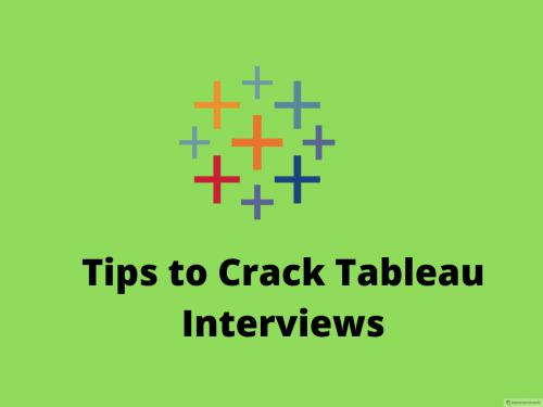 How to Crack Tableau Interview Questions