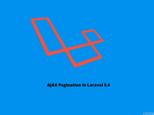 Laravel Pagination Ajax