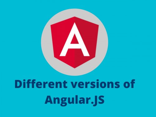 Different versions of Angular.JS
