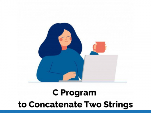 C Program to Concatenate Two Strings