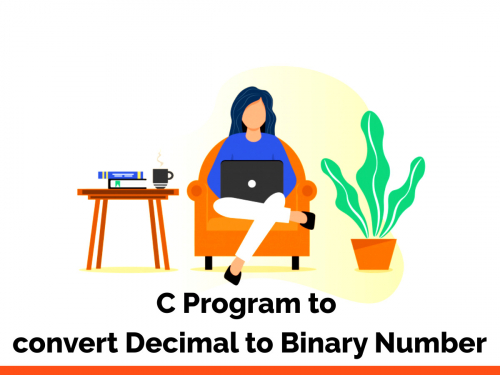 C Program to convert Decimal to Binary Number