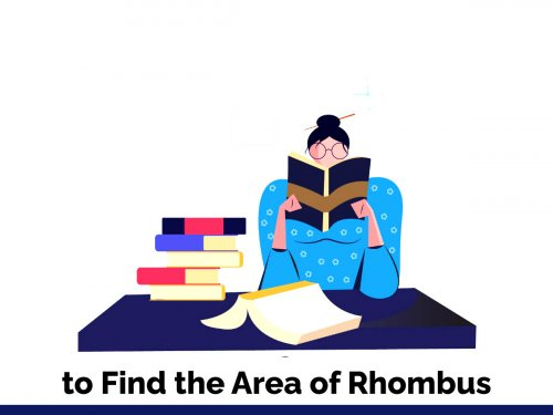 C Program to Find the Area of Rhombus