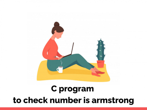 C program to check number is armstrong