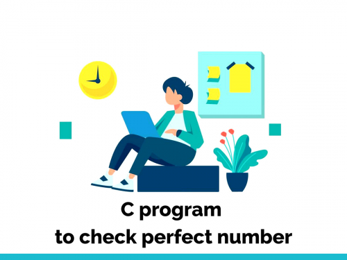 C program to check perfect number