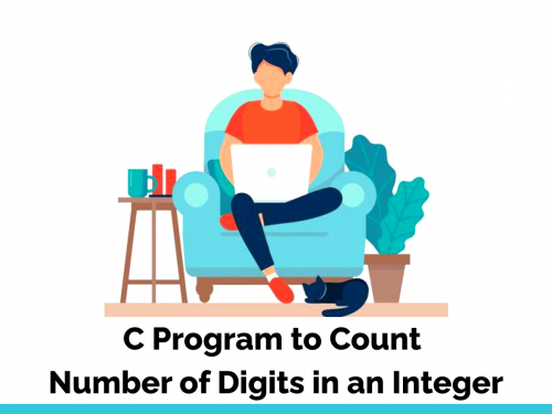 C Program to Count Number of Digits in an Integer