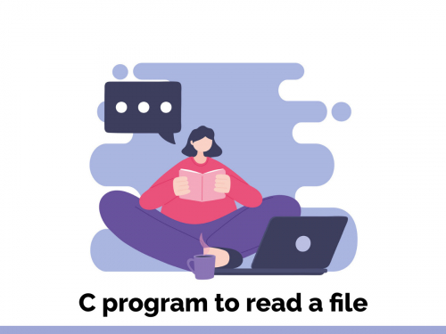 C program to read a file