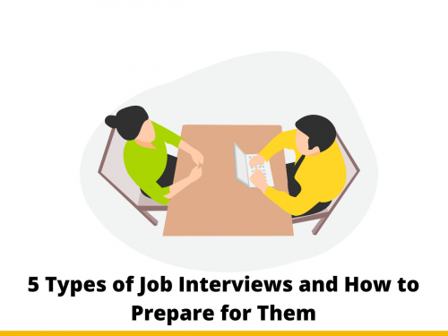 5 Types of Job Interviews and How to Prepare for Them