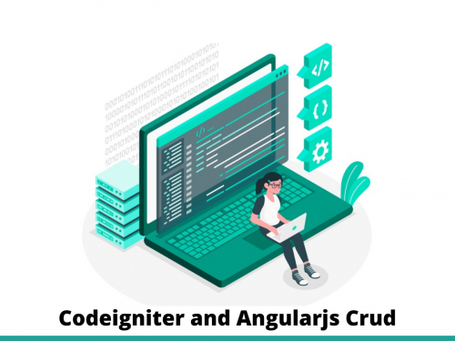 Codeigniter and Angularjs Crud
