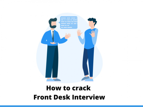 How to crack Front Desk Interview